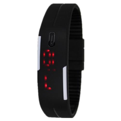 12 Colori Delle Donne di Modo Uomini di Gomma LED Watch Data Braccialetto di Sport Digital Orologio Da Polso Impermeabile Colorato Saat Relogio Feminino