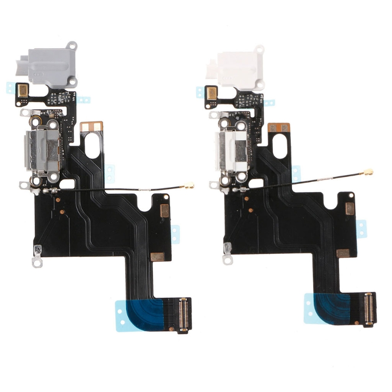 USB Charging Port Connector Micphone Earphone Jack Flex Cable Parts For iPhone 6