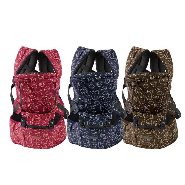 2016 New Waist Stool Walkers Wholesale Baby Hold Waist Baby Carrier Hipseat Belt KIds Infant Hip Seat Double-Shoulder Stool
