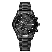 Men Waterproof Quartz Wristwatch Gift Bracelet Tungsten Steel Laser Exquisite Rose Hot Sale Couple Watches