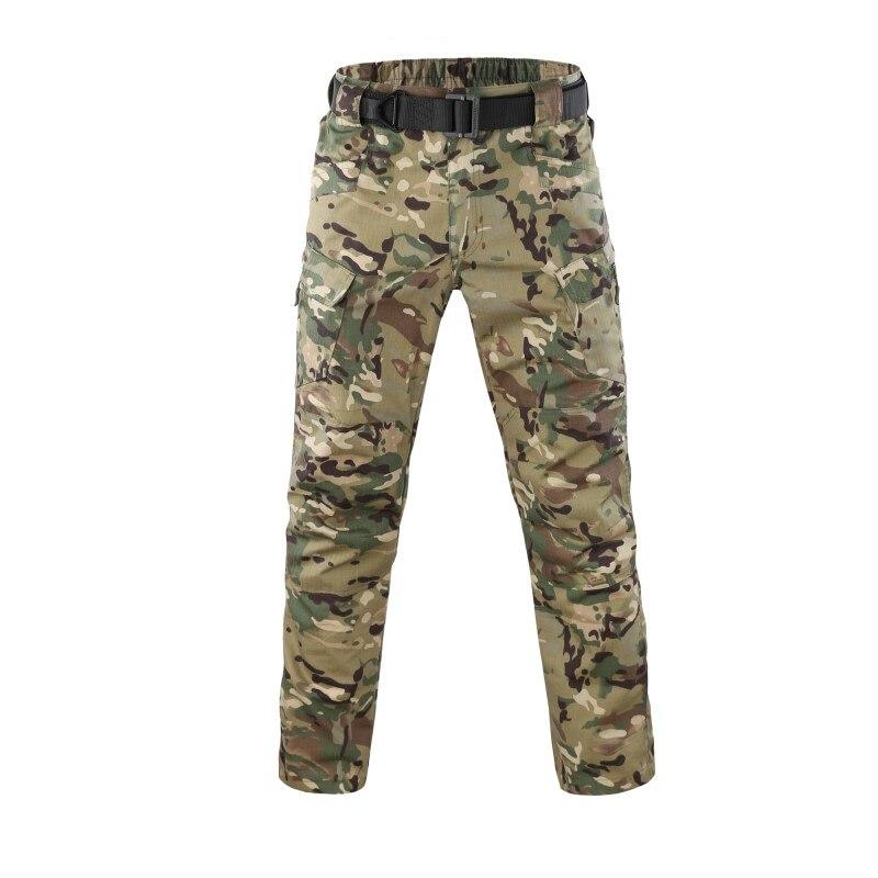 Accurato Pantaloni Cargo Tattici Degli Uomini Di Combattimento Swat Esercito Militare Pantaloni Di Cotone Molte Tasche Stretch Flessibile Uomo Leggero Pantalone Impermeabile