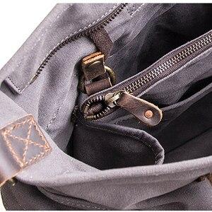 Image 5 - AETOO فصل تصميم الفرعية الأم حقيبة قماش قنب حزمة من المزدوج الاستخدام الذكور مائل تحمل سعة كبيرة حقيبة خاصة