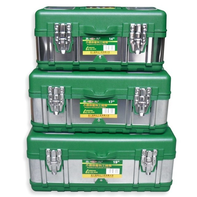Multi function Stainless Steel Tool box Household Electrician ...