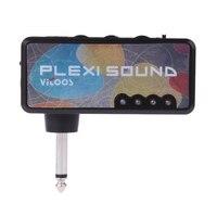 Vitoos Elektrische Gitaar Plug Mini Hoofdtelefoon Versterker versterker Plexi Sound Compacte Draagbare