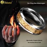 Der Ring Des Nibelungen Tungsten Stainless Steel Ring Men Jewelry Gifts For Boys Boyfriend