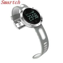 Smartch умный Браслет Bluetooth 4.0 пульсометр IP68 Waterpoof измерять кровяное давление фитнес-трекер Спорт для IOS Android SMAR