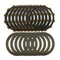 Мотоцикл частей набор стальных пластин и Фрикционные Диски сцепления для honda cbr1000 04-07