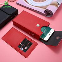 Fashion Universal Bags Case For IPhone 7 7 Plus 6 6s Plus SE 5S For Xiaomi