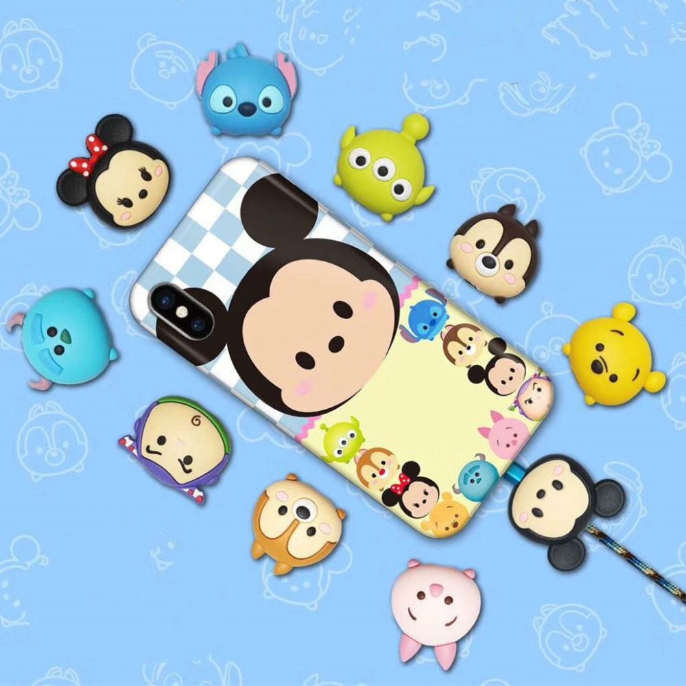 1pcs Kawaii Android Cable Bite IPhone Cartoon Cable Protect