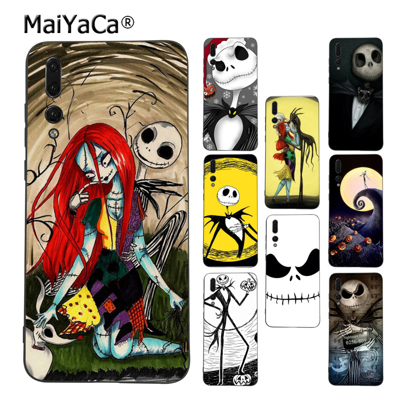 Nightmare Before Christmas Phone Case.Jack Skellington The Nightmare Before Christmas Phone Case For Huawei P9 10 Plus 20 Pro Mate9 10 Lite Honor 10 View10