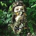 3D Caza Cazador Camuflaje Camo Sombrerería Balaclava Máscara Facial para la Caza Pesca Ajustar El Envío Libre