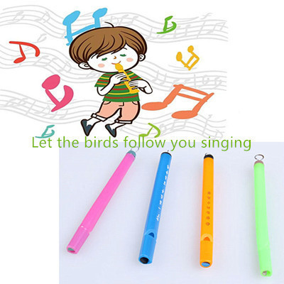 Novelty toy magic birdcall whistle educational instrument mini bird flute child outdoor sports fun gift