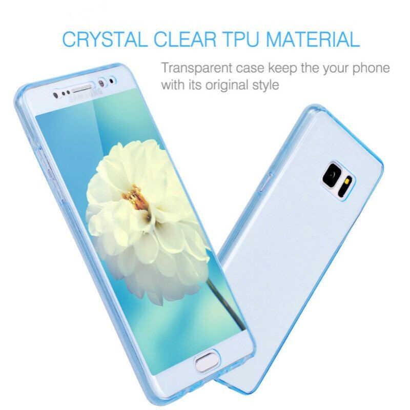 Mềm mại s10plus Ốp Lưng Dành Cho Samsung Galaxy Samsung Galaxy S10 S9 S8 Plus S10E S7 S6 Edge Note 8 9 10 Pro 5 360 Full Bao Da Silicone Trong Suốt Ốp Điện Thoại