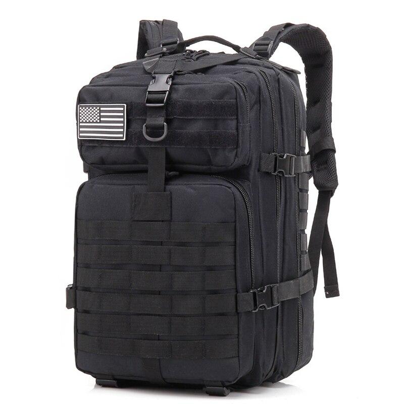 Sac à dos d'assaut tactique militaire petit sac d'assaut de 3 jours armée Molle sac à dos sac à dos sac à dos pour la randonnée en plein air