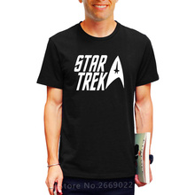 2017 Summer classic movie Star trek Printed Mens Men T Shirt Tshirt Fashion Short Sleeve O Neck Cotton T-shirt Tee Free Shipping