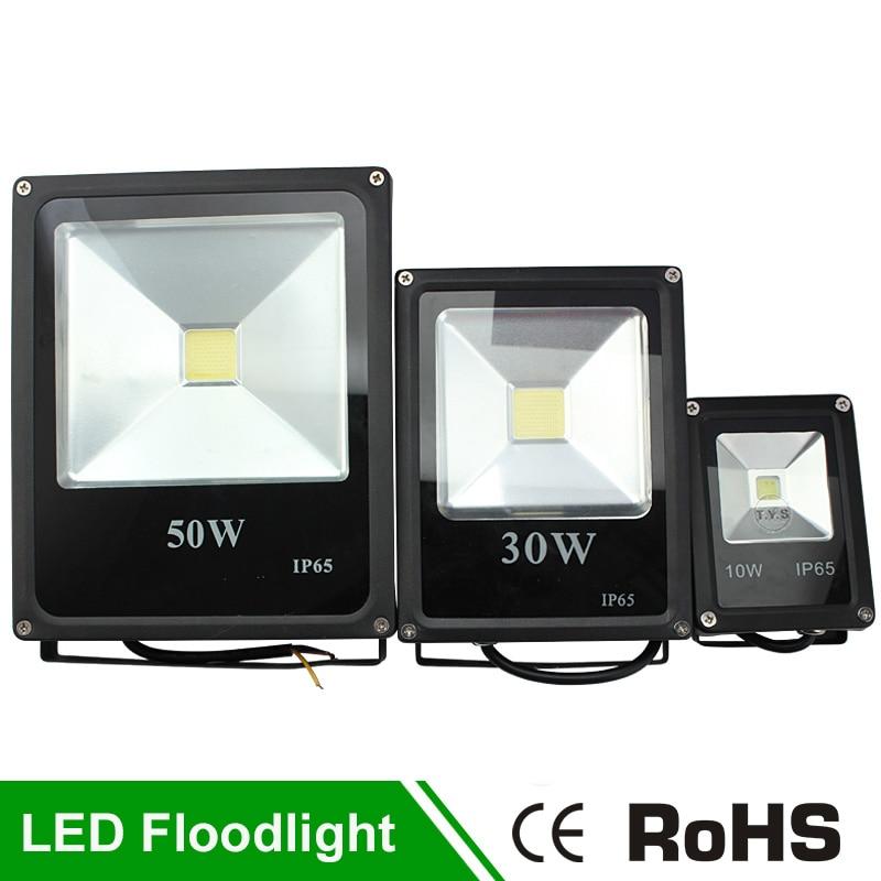 220V <font><b>Led</b></font> Flood Light Street Projector <font><b>RGB</b></font> Refletor <font><b>Led</b></font> Searchlight Lamps Waterproof Light 10W <font><b>30W</b></font> 50W Outdoor Lighting Spotlight