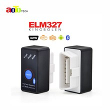 Super MINI ELM327 Bluetooth ELM 327 Version 2.1 OBD2 / OBDII for Android Torque Car Code Scanner FREE SHIPPING