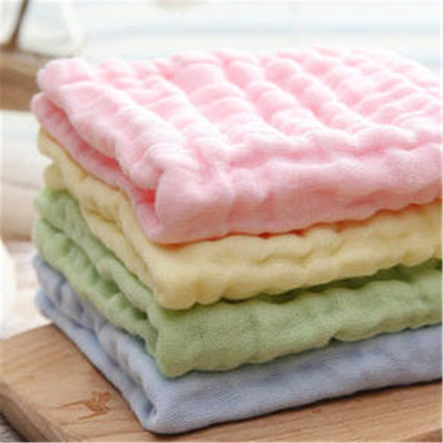 Soft Newborn Baby Cotton Towels Set Washcloth Toallas For Newborn Stuff Baby Face Towel Bath Cotton 70A0044