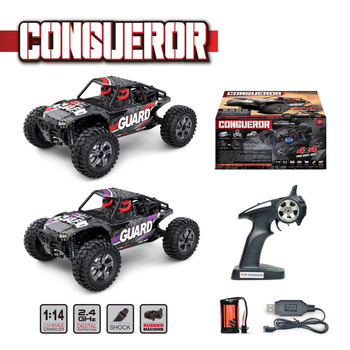 Electric Racing RC Car 1/14 SCALE ELECTRIC 4WD 2.4GHZ Wireless Control Competitive Racing RC OFF-ROAD BRUSH High Speed RC CAR