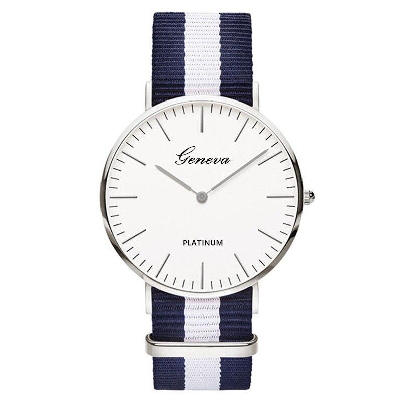 Watch Men 2019 Top Brand Nylon Strap Sport Watches Mens Quartz Clock Fashion Ultra Slim Watches Hot Reloj Hombre Erkek Kol Saati