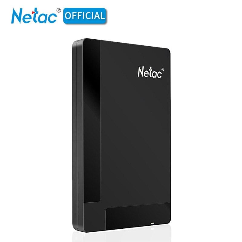 Computer & Büro Externer Speicher Netac 2,5 portable Hdd 5400rmp K218 Usb 3.0 2,0 500 Gb Schwarz 1 Tb 500 Gb 1 Tb Externe Festplatte Festplatte Für Desktop-laptop Pc Mac