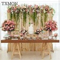тычинки для цветов Новый свадебный реквизит имитация Цветочная композиция цветок свадьба сцена т сцена дорога свинец