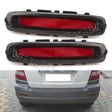 Car Red Tail Rear Bumper Reflertor font b Lamp b font Brake light rear fog lights
