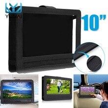 10 inch Car Headrest Mount Holder Seat Strap Case For Ipad Hanging Bag DVD Tablet Protective
