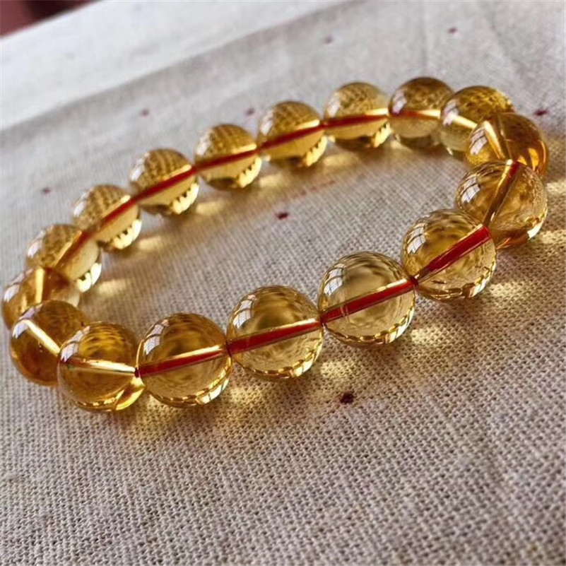 Natural Citrine Quartz Bracelet (4)