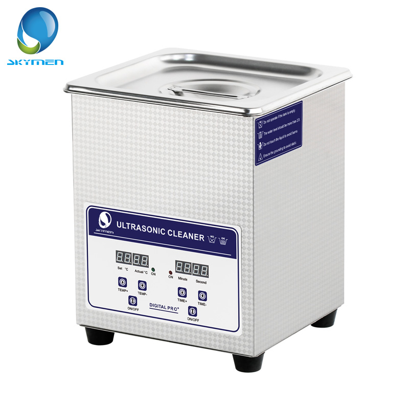 Skymen Ultrasonic Cleaner 60W 40kHz Bath Digital Ultrasound Sonic Cleaner Heat for Home Industry Lab Clinic