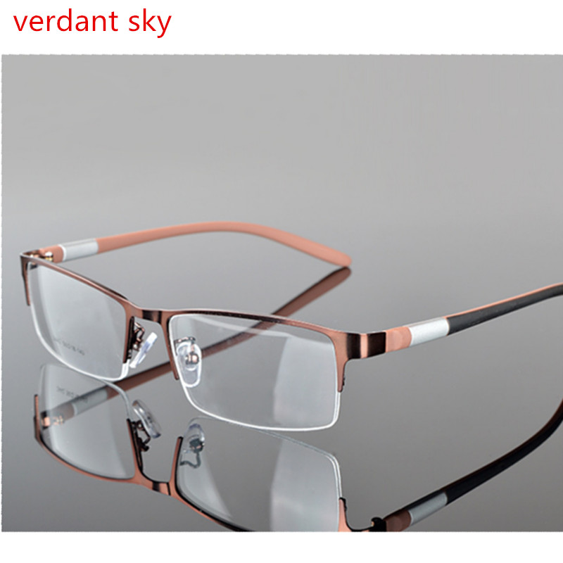 2017 color changing 1.61 prescription glasses frame Frame Men Eyeglasses Computer Optical Prescription Reading Clear Eye Lens