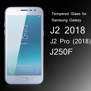 Tempered Glass For Samsung Galaxy J2 2018 J250 J250F/DS On J2 Pro 2018 Screen Protector Cover Protective Case Glass Sklo 9H(China)