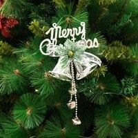 Рождественские украшения колокольчики Стропы Рождественская елка украшение подвеска ювелирные изделия распродажа