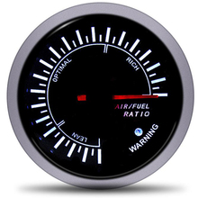 60mm Air Fuel Ratio Gauge Racing Meter Indicator motorcycle fuel sensor gas level universal
