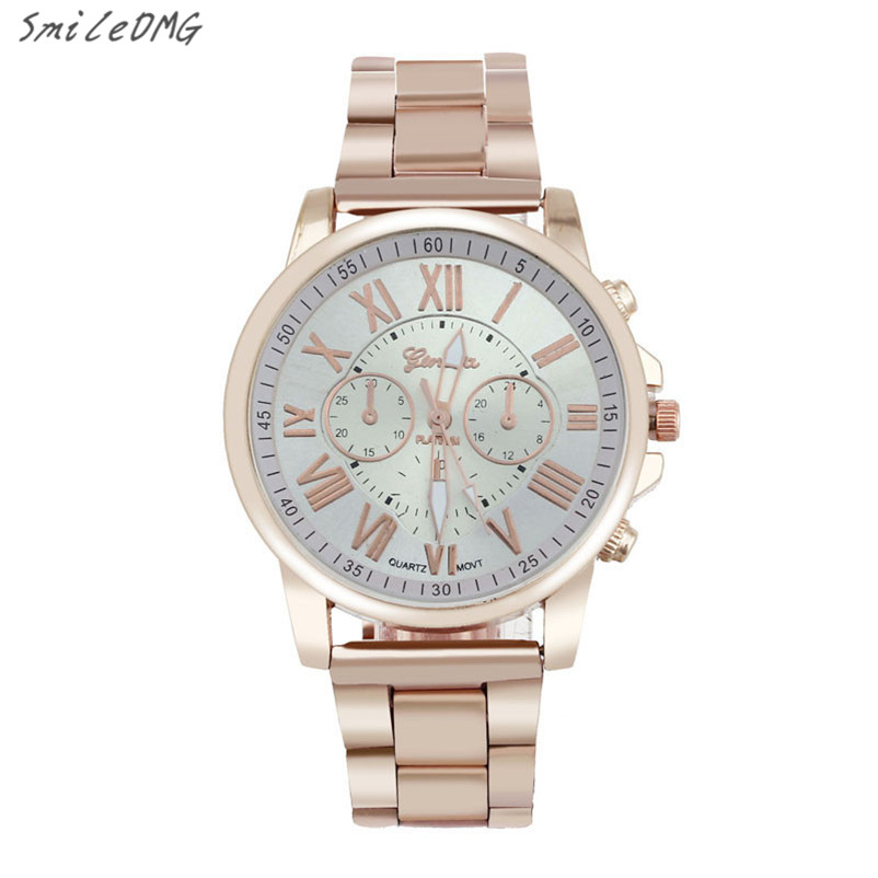 Men Watch Luxury Stylish Fashion Roman Number Geneva Stainless Steel Quartz Sports Dial Wrist Watch Gift Free Shipping ,Nov 8