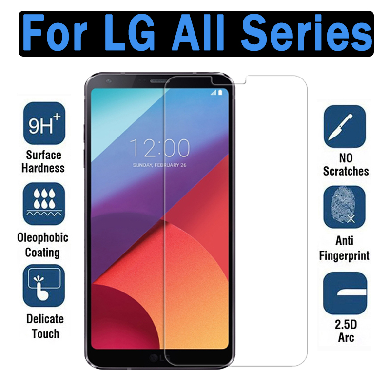 Protective <font><b>glass</b></font> on for <font><b>LG</b></font> X Power 2 tempered glas v10 v20 g5 <font><b>g6</b></font> g7 q6 k20 k10 k8 plus 2017 <font><b>screen</b></font> <font><b>protector</b></font> protection film 20k image