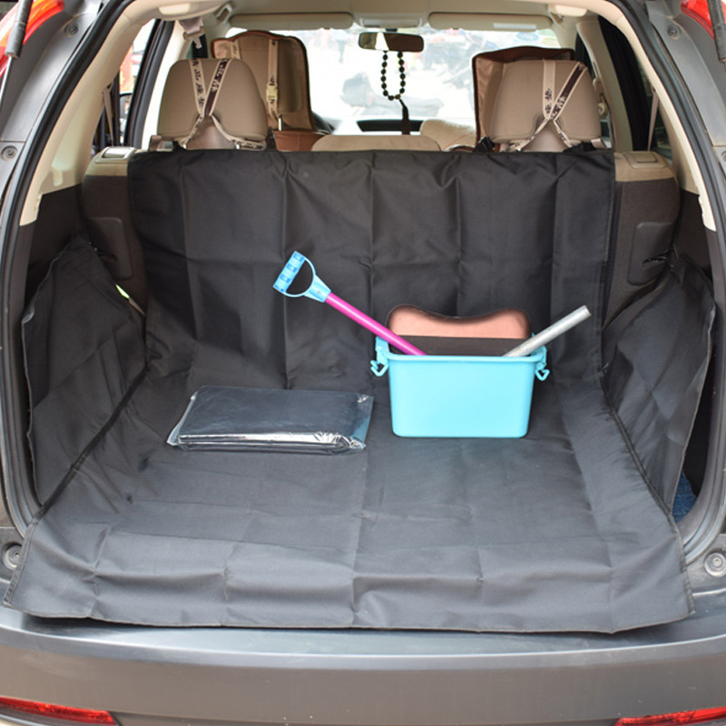 Pet Car Seat Pad Waterproof Car Rear Back Seat Cover Travel Dogs Cat Safe Hammock Cushion