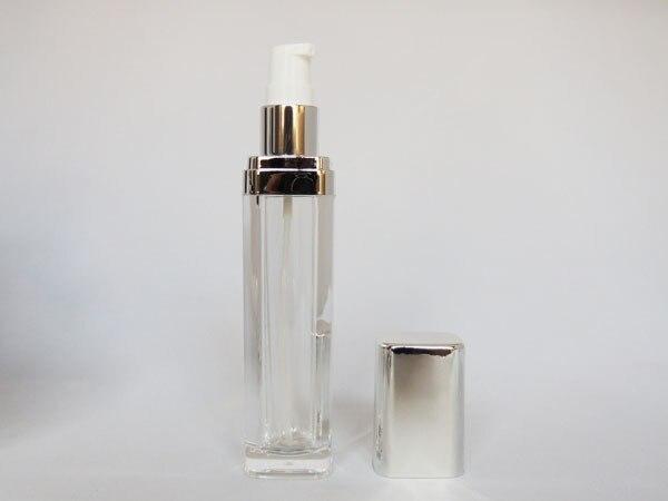 Acrylic Square Lotion  Bottle/Acrylic Square Cream Jar - 9 pieces set