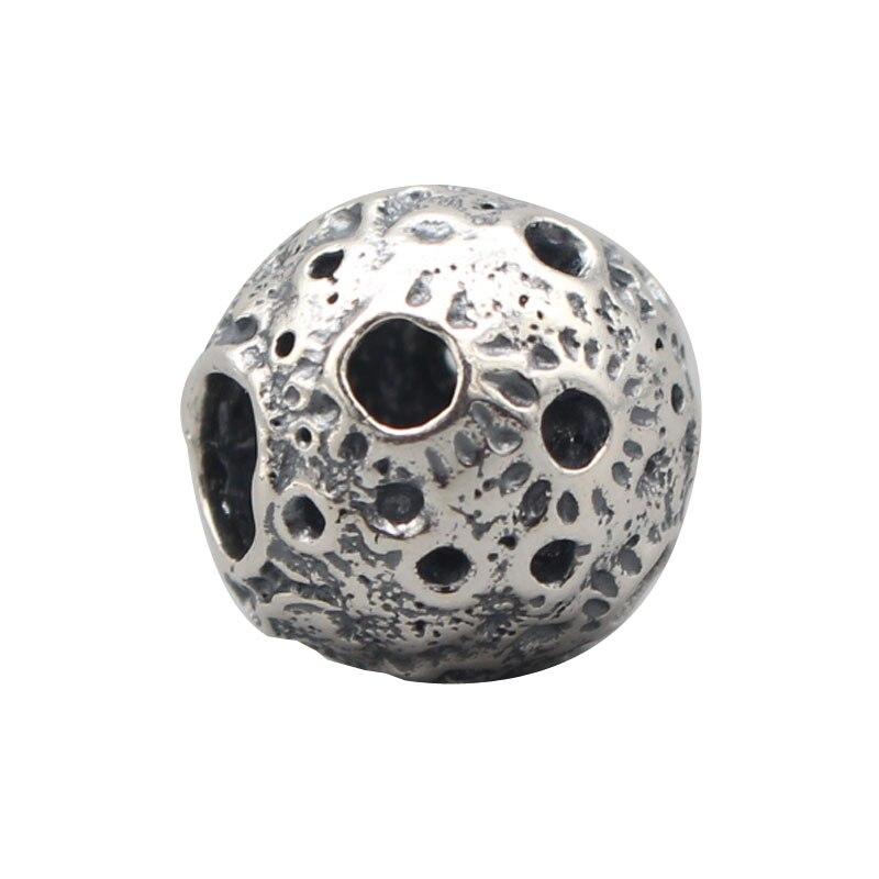 925 Sterling Silver Luna Charms For Gift DIY Bracelet Making Fit Troll OHM Charm Bead European Brand Bracelet Jewelry