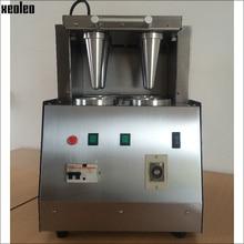 Xeoleo 4 Holes Pizza cone machine Pizza cone Moulding machine Pizza Cone Molding machine  CE approved 4100W 220V/110V Small size
