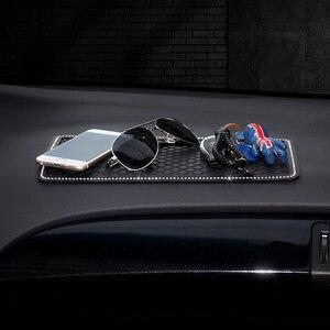 Image 2 - 1X รถลื่นสัญลักษณ์ Anti Slip Pad ยางโทรศัพท์มือถือ Sticky Stick Non Slip Pad รถจัดแต่งทรงผมอุปกรณ์เสริม