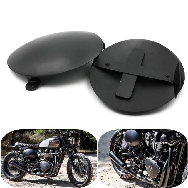 Motorcycle Battery Side Cover Fairing Protectors Frame Guard For