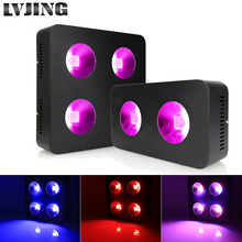 600W/1200W LED Grow Light Full Spectrum COB Chips for Indoor Medical Plants Grow Blooming Button Control 3 Mode Hydroponics Lamp