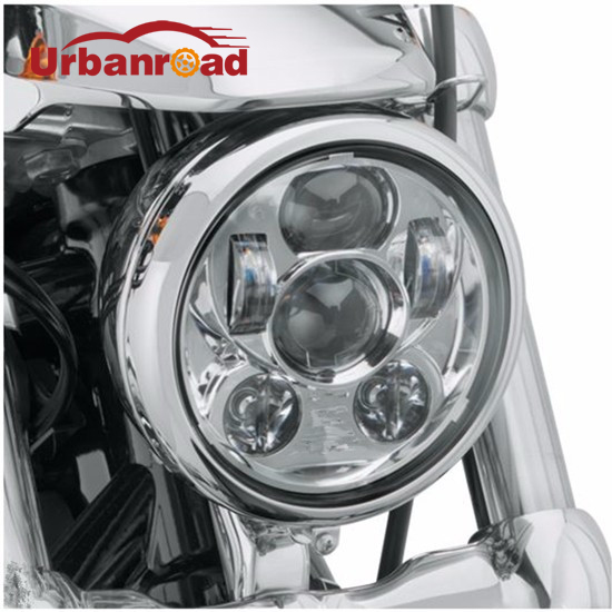5 3/4 motorcycle headlight led h4 high low beam 5.75 inch faro Led Moto Headlight projector lens daymaker For harley Davison