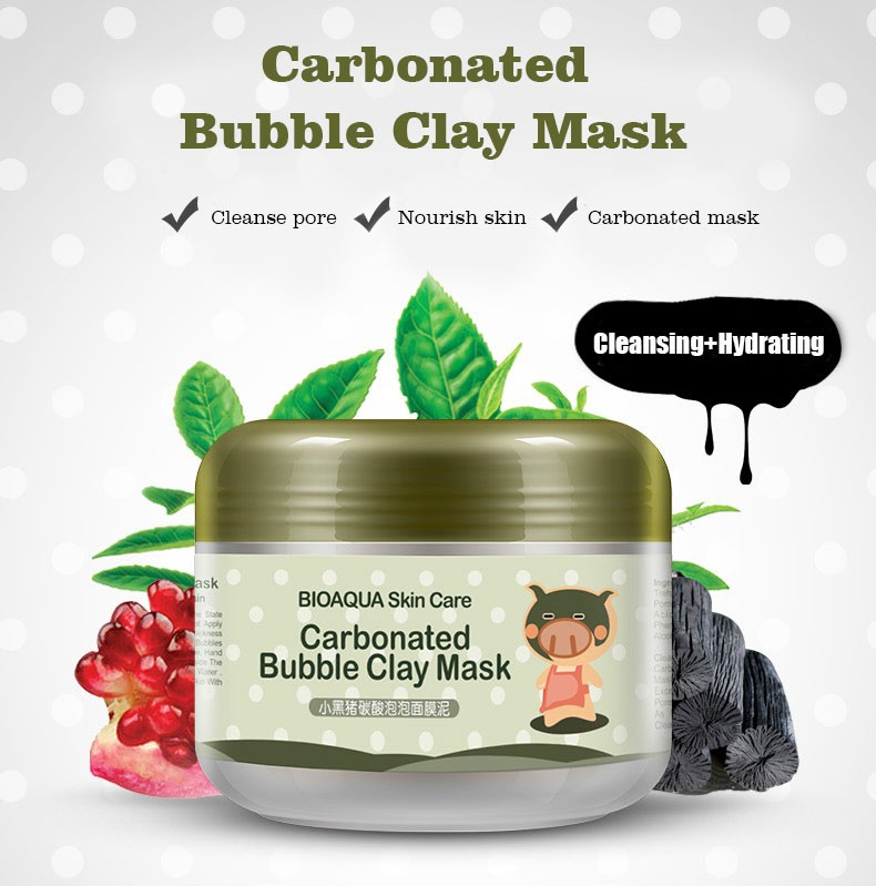 BIOAQUA Carbonated Bubble Clay Mask Mask for the Face Moisturizing Whitening Anti-Aging Acne Treatment Hyaluronic Acid Face Mask HTB1lXDac56guuRjy1Xdq6yAwpXa3