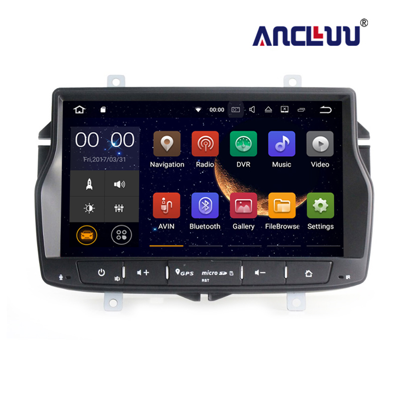 1 din Car DVD Radio Player GPS Navigation for LADA Vesta Russian language Android 7.1 with 2G RAM wifi bluetooth image