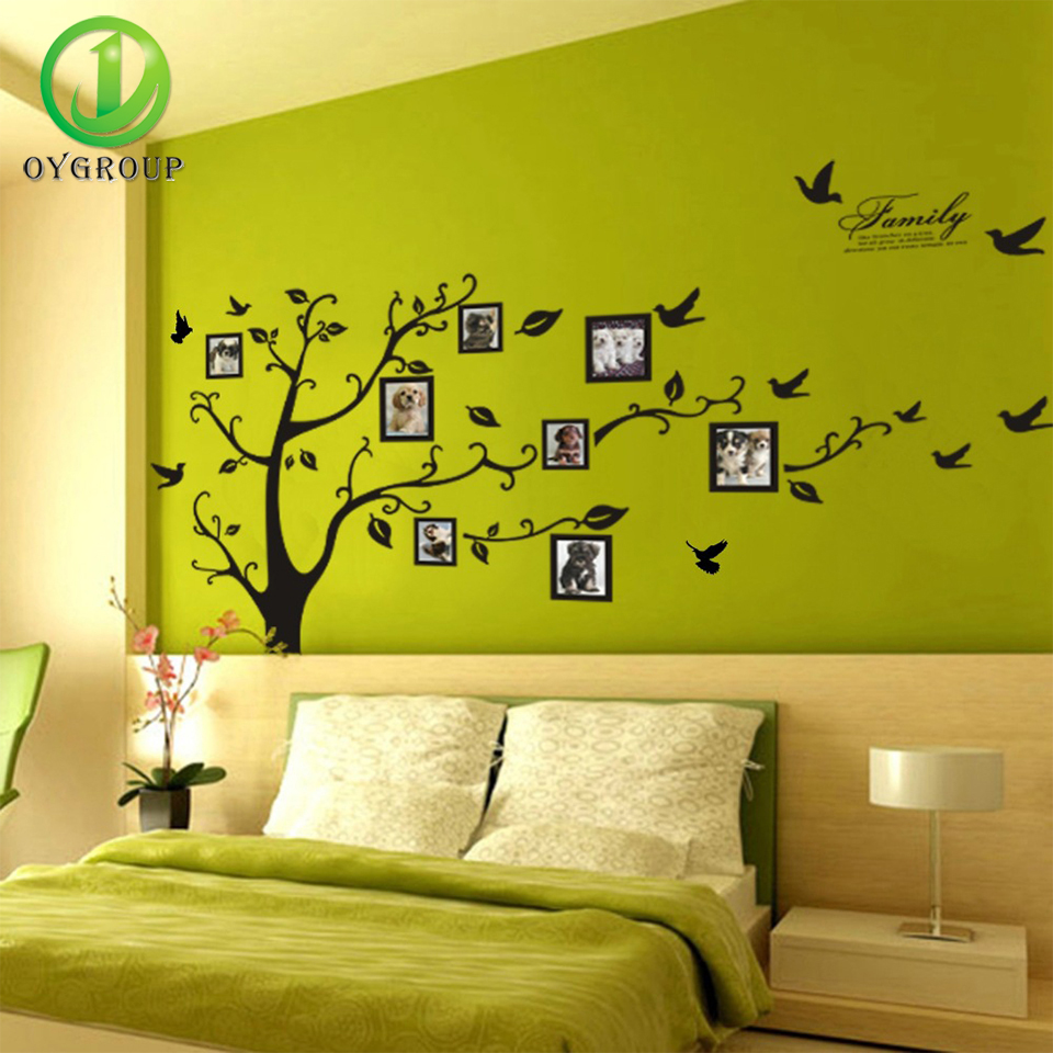 Hot Selling Print Type 3D Wall Sticker With Photo Frame Home ...