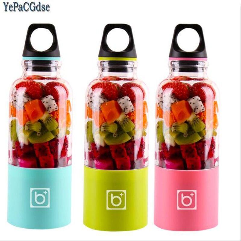 500ml Portable Juicer Cup USB Rechargeable Electric Automatic Bingo Vegetables Fruit Juice Maker Blender
