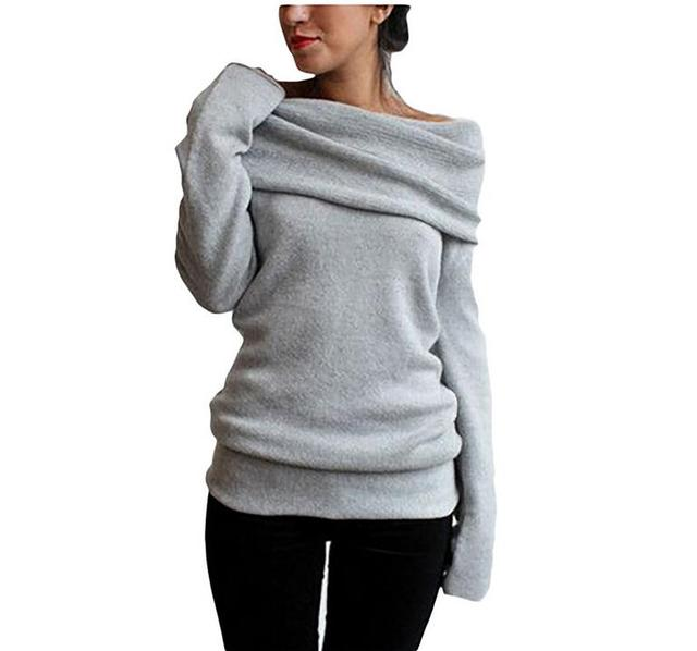 Hot Sweaters Knitted pullover Sweater Women Sweater Jumper Women Sweaters Pull Femme Winter Long sleeve Wool Female