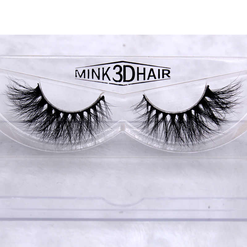cd12a3d43df ... L023 3D mink hair Thick Long False Eyelashes Thick Natural Fake Eye  Lashes Professional Makeup Crossing ...